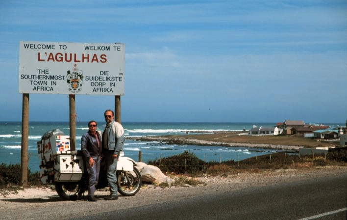 GRANT AND SUSAN JOHNSON - Li-Agulhas, South Africa