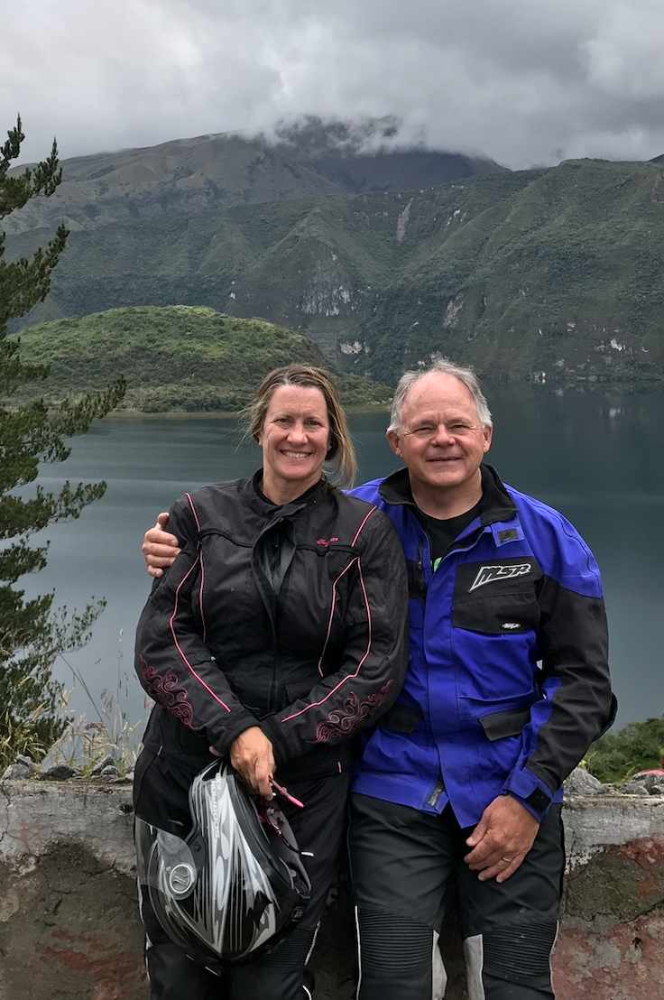 Image: Margo and Duke Lambert - Equador - High in the Andes