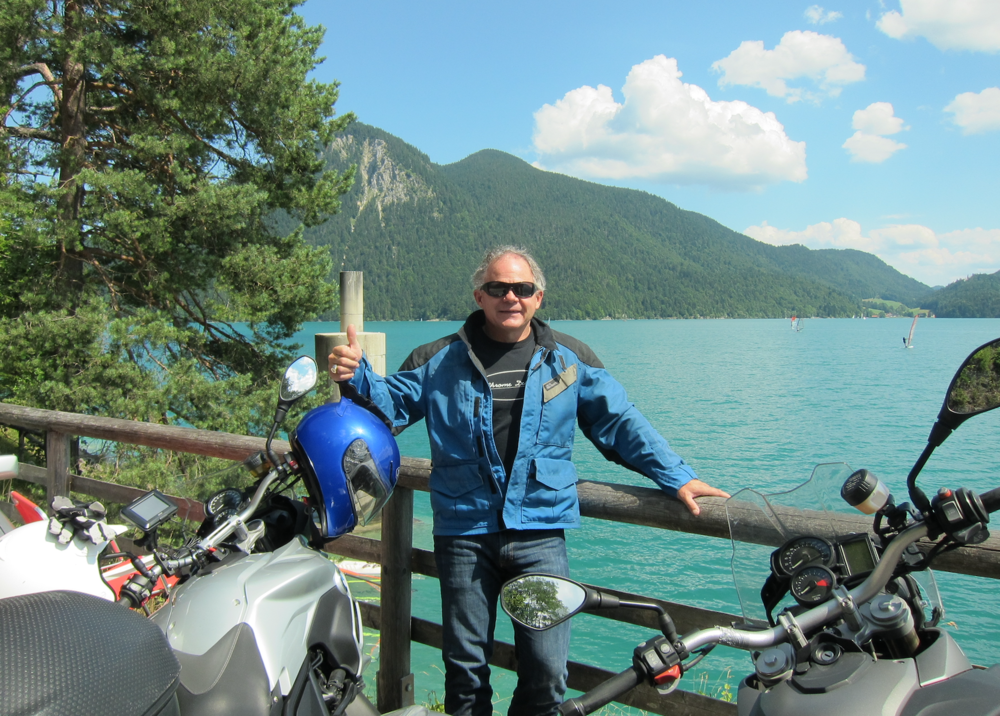 Image: Duke Lambert - Munich- Entering German Alps
