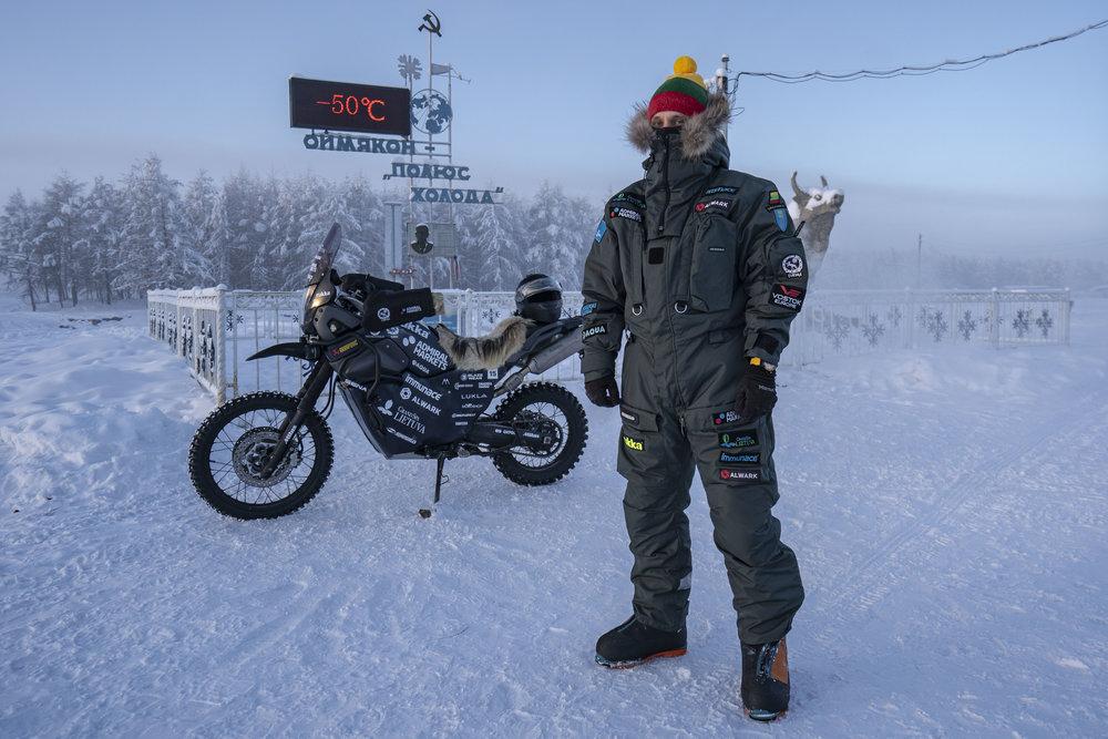 Image and Cover Image: Karolis Mieliauskas - The Coldest Ride