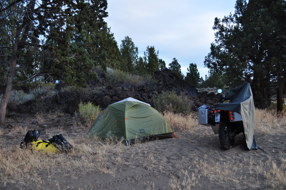 Image: Heidi and David Winters - Wild Camping