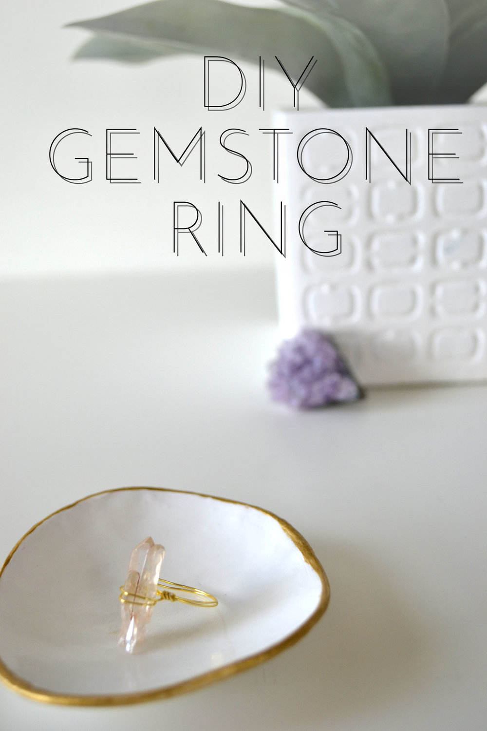 DIY Quartz Ring