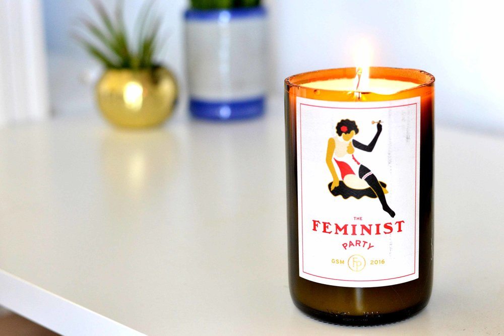 DIY #1 - Handmade CandlesThe first diy is a simple candle that I think would make a great gift for your bff's of their favorite wine bottle or if you just have a really awesome bottle you don't want to get rid of.