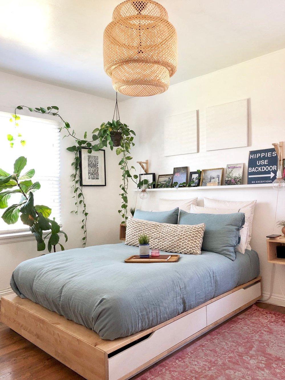 Bedroom Tour- Flowers + Folk