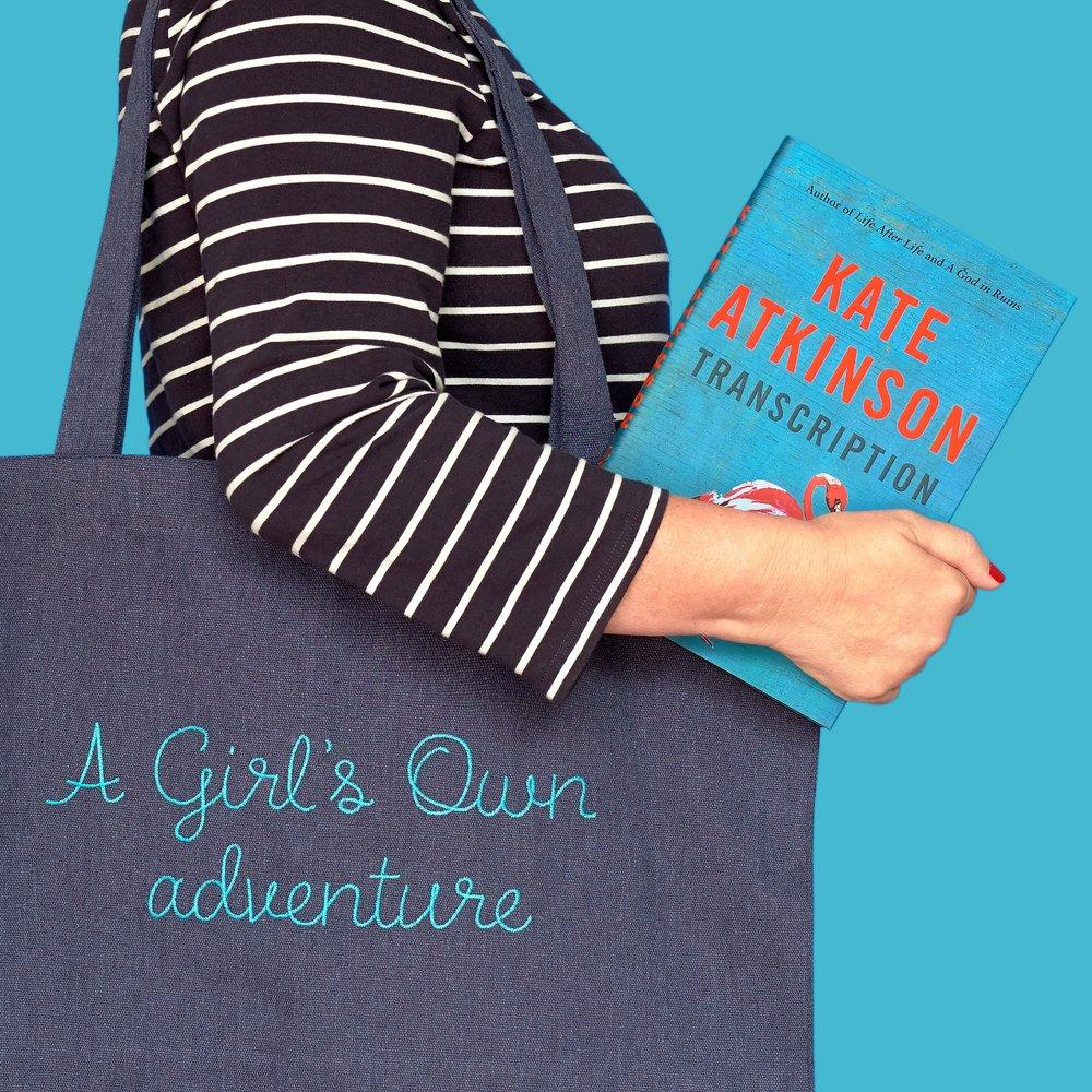 Lisa Macario Kate Atkinson Transcription Penguin Random House tote bag