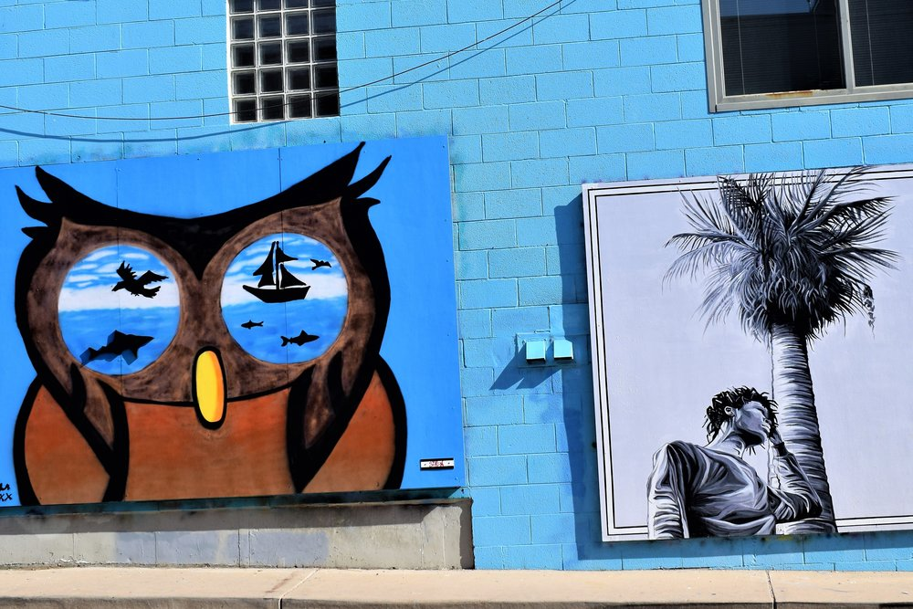 Art Alley, located off Broadway next to Root of The Hill.