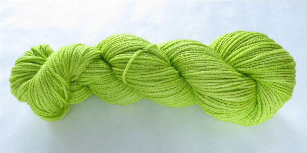 Worsted Proper: Poison Green