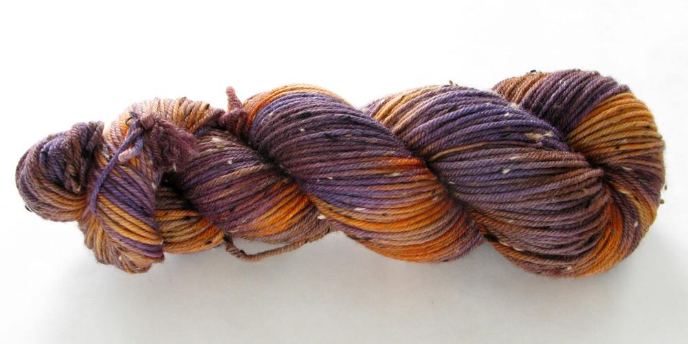 Tweedy DK: Violet Orange