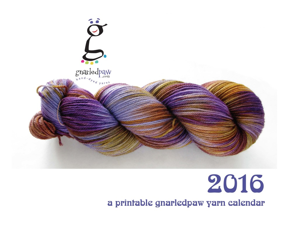 A PIN UP CALENDAR FOR YARN LOVERS!