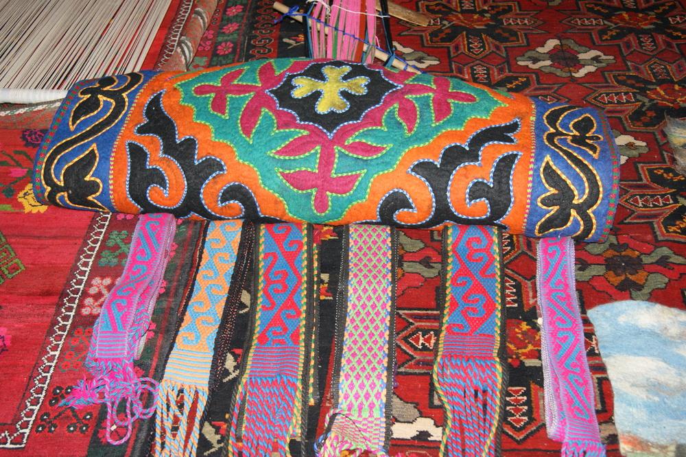 Shirdaks  and tradiional Kazakh handicrafts