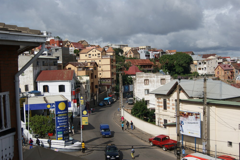 The beginning of the journey--Madagascar's capital, Antananarivo