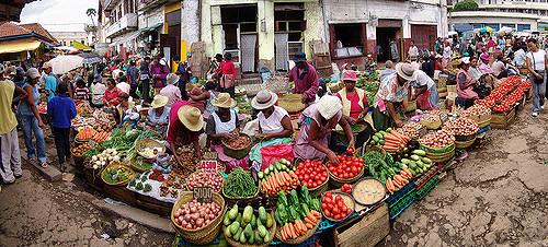 Isotry market, Antananarivo