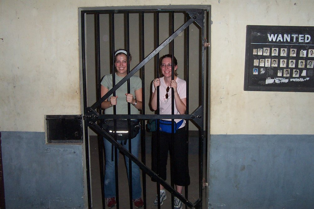 "Not the students I wanted to see locked up.  See ""Safari blues."""