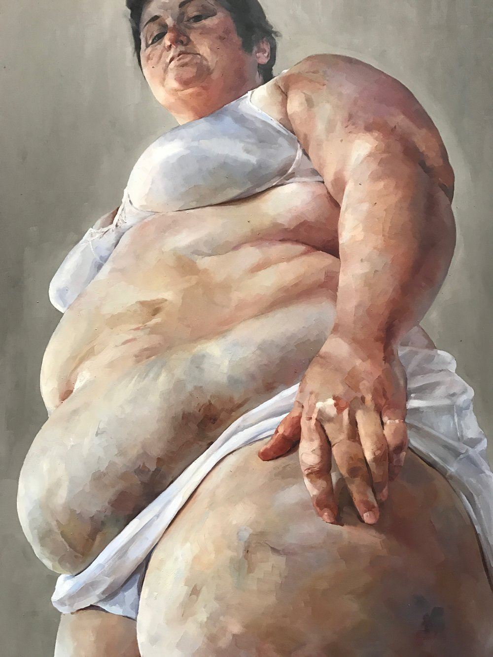 Strategy  by Jenny Saville (cropped)
