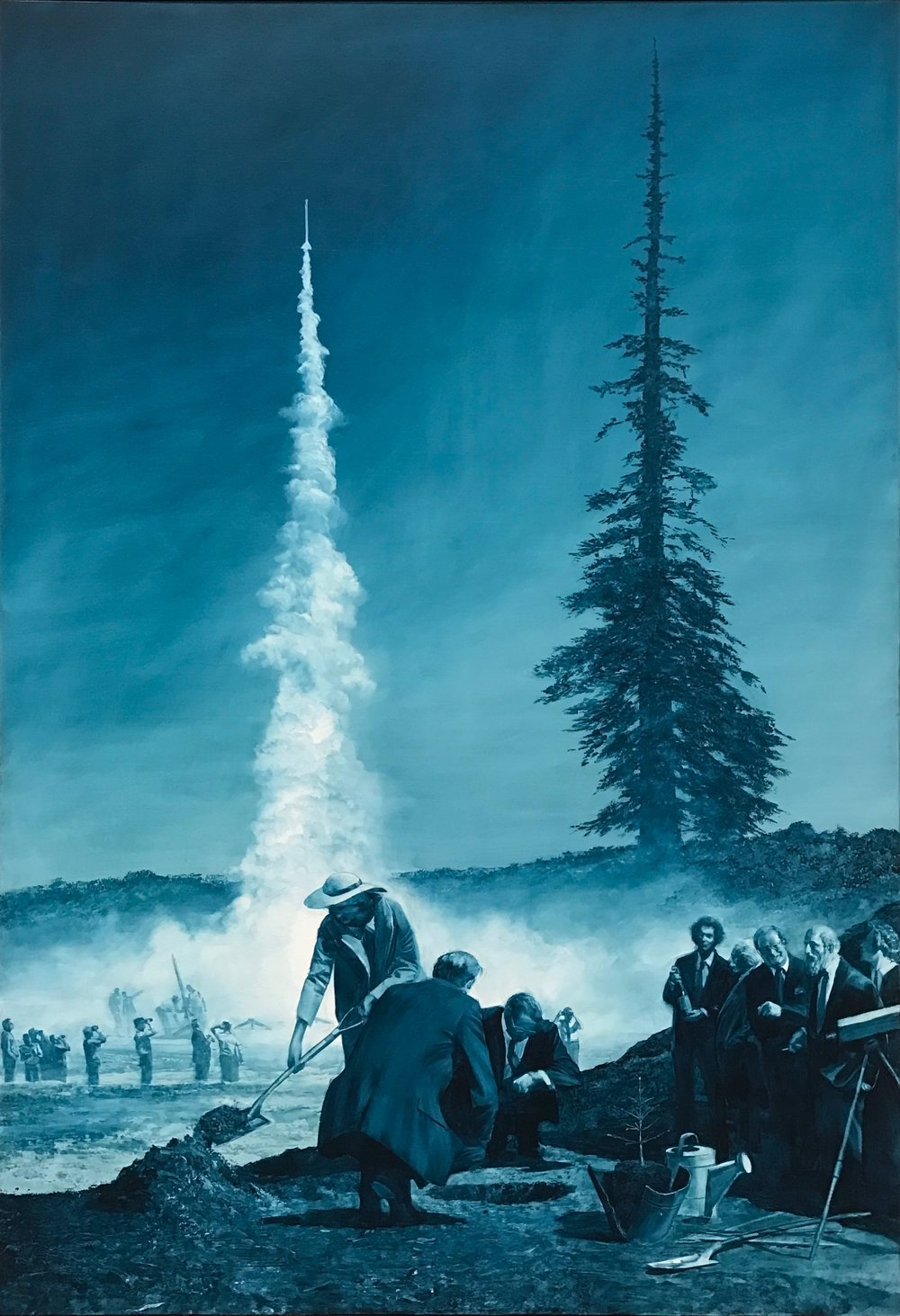Achilles and the Tortoise  by Mark Tansey