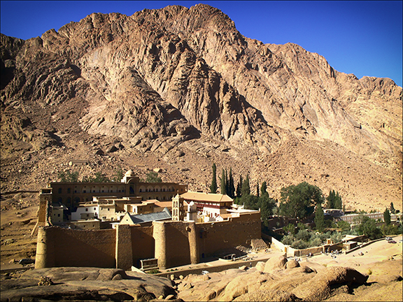 St. Catherine's Monastery near mount sinai, egypt