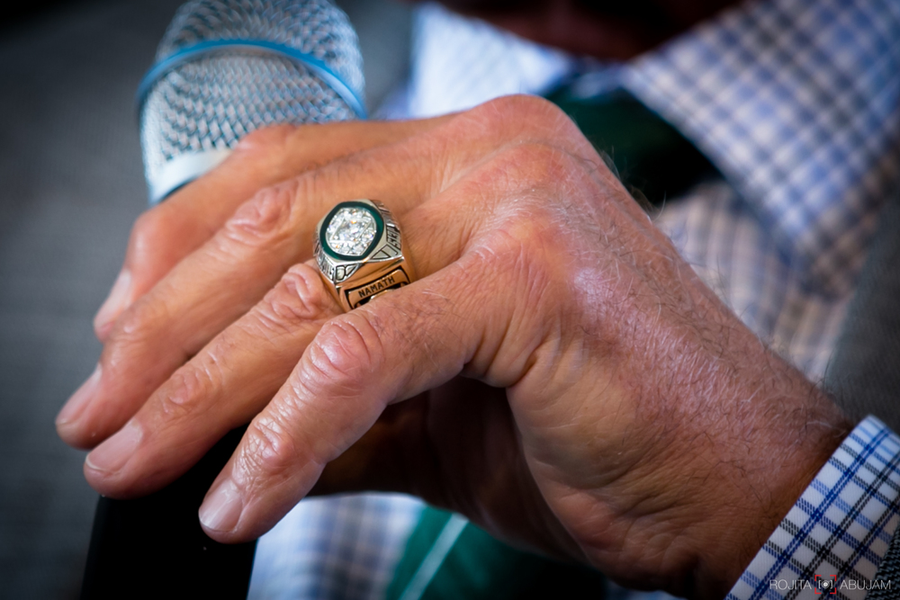 JOE NAMATH'S Super Bowl Ring.