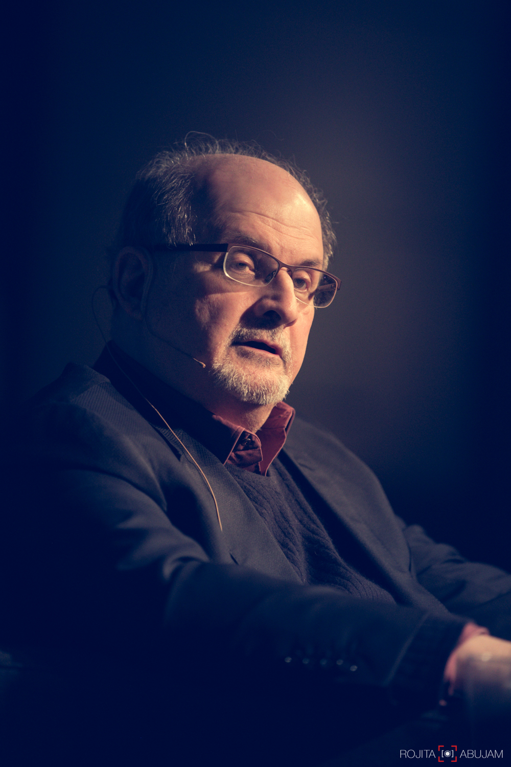 SALMAN RUSHDIE -   Author, Midnight's Children.