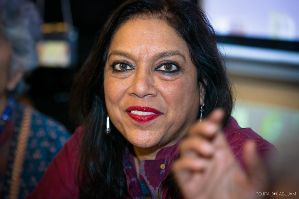 MEERA NAIR- Award Winning Director. Films include Monsoon Wedding, The Namesake, Salaam Bombay!