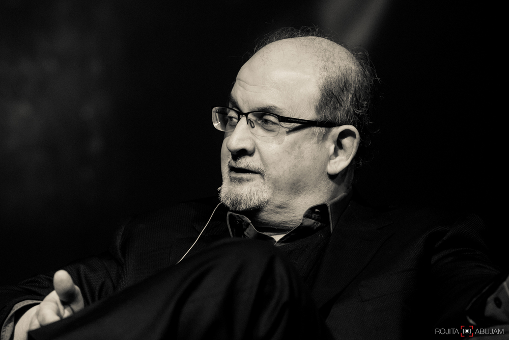 SALMAN RUSHDIE - Booker Prize Winner.