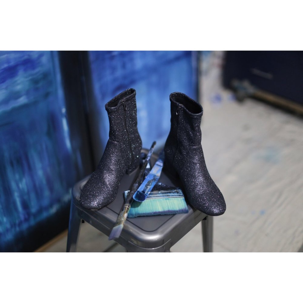 These Glitter booties are everything! Coming this Fall!
