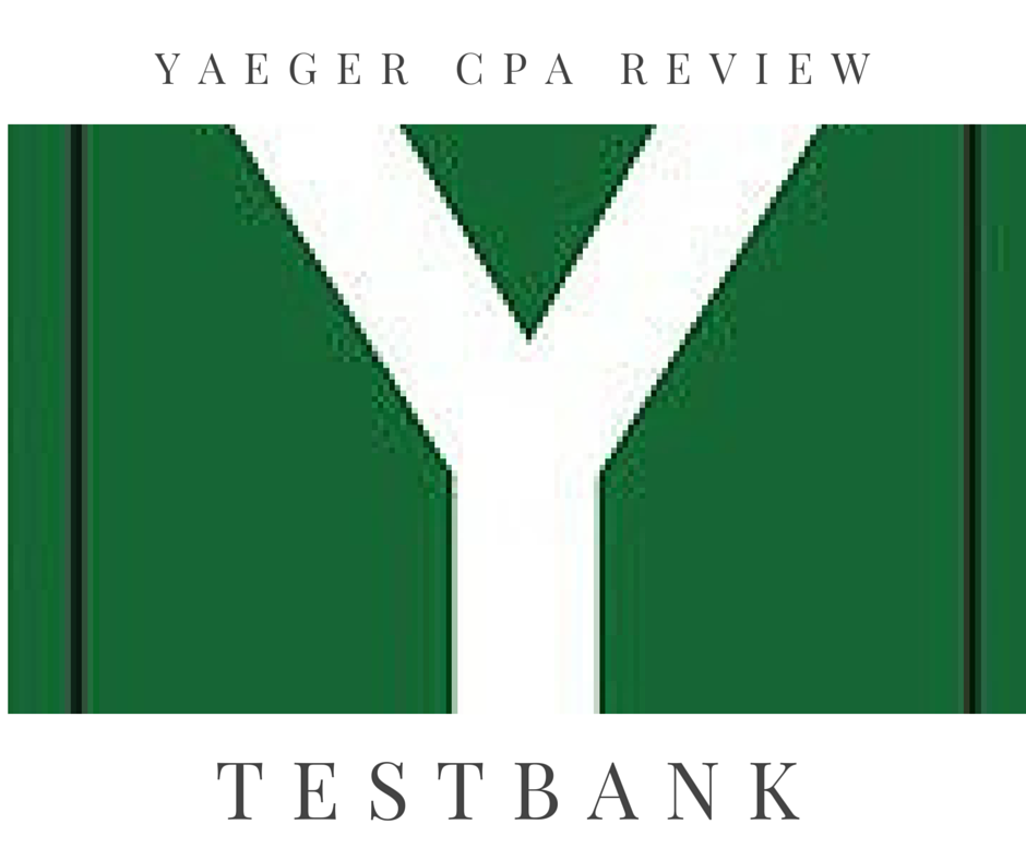 Yaeger CPA Review - TestBank Software