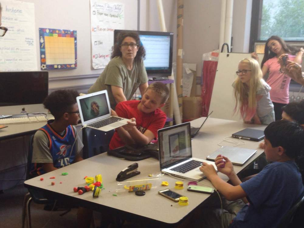learn to code summer camp for middle school students
