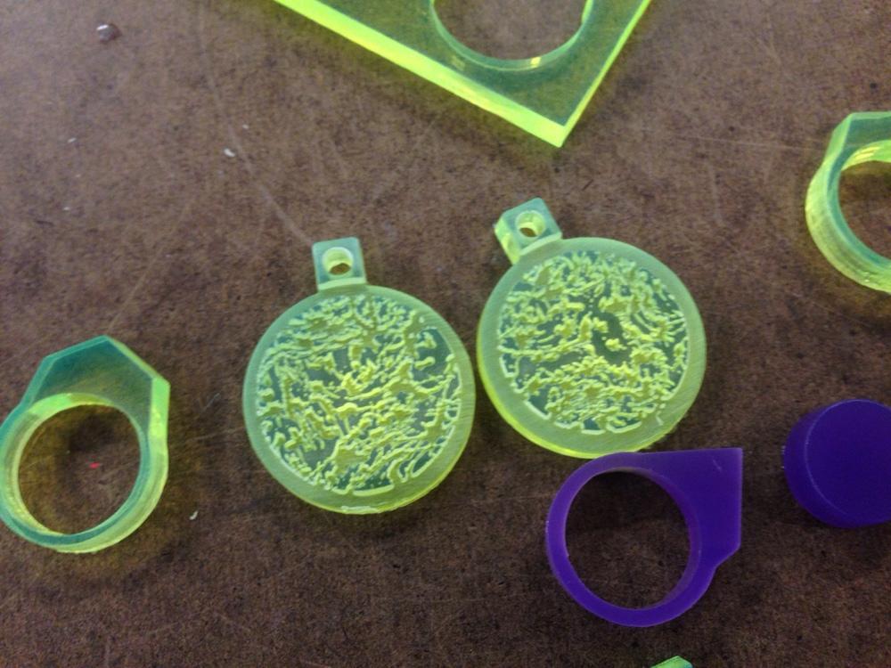 laser cut jewelry