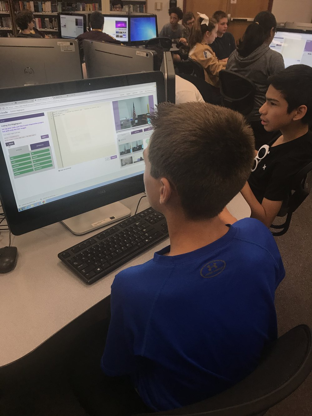 I feel my successes are often and many! The fact that I'm able to expose so many students to coding in an inviting and interesting environment is a great accomplishment.