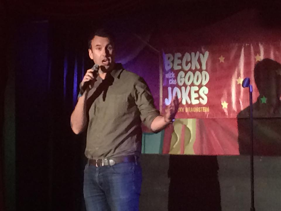 Matt Braunger doing a surprise guest set at the show!