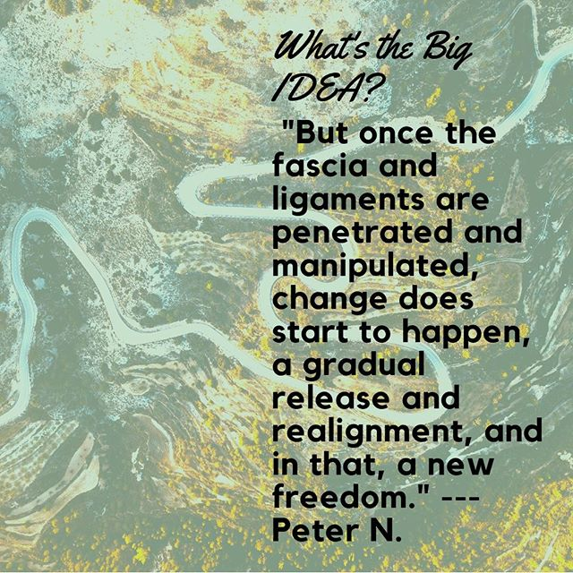 "For a dose of encouragement, see Peter's Forecast : ""WHAT'S THE BIG IDEA?--ADJUSTING DISCIPLINE"", http://ow.ly/bjMt30lWNKg"