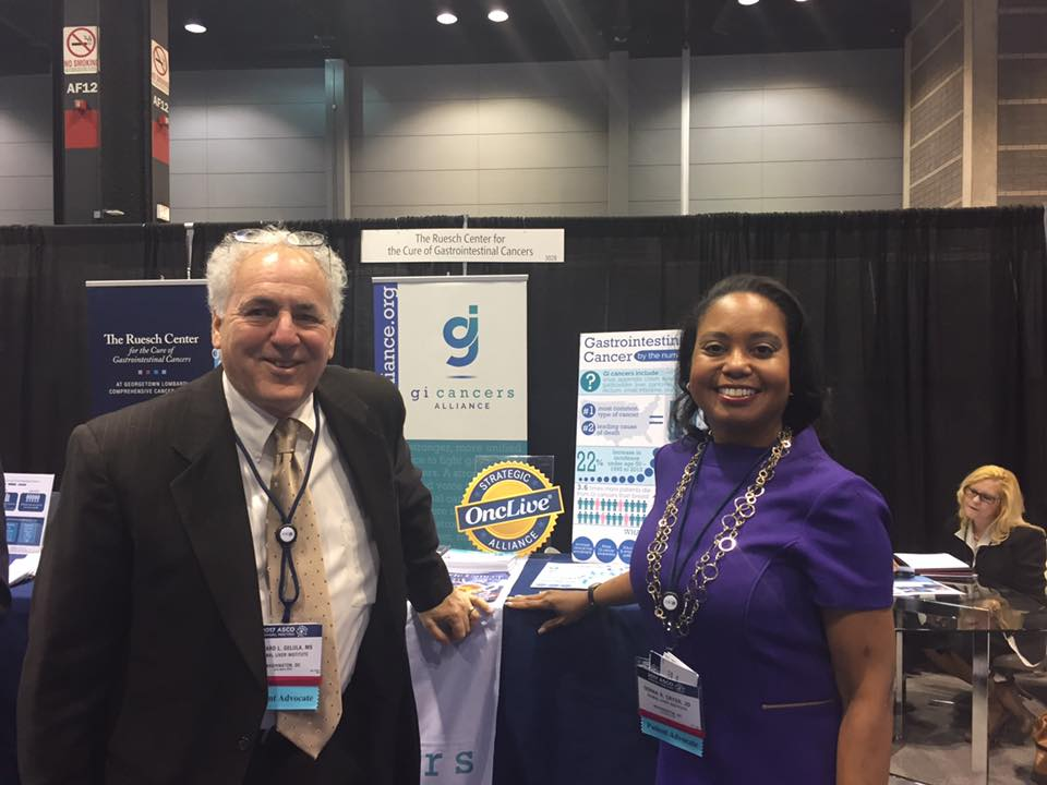 President & CEO, Donna Cryer, and COO, Richard Gelula, attending ASCO 2017