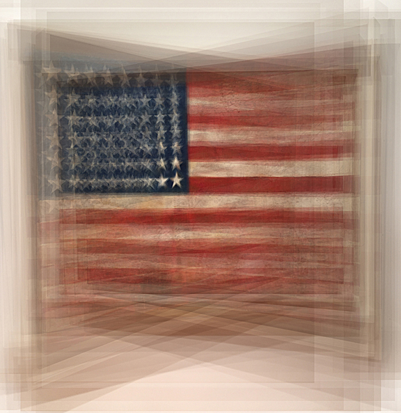 Multi Flag Jasper Johns MOMA