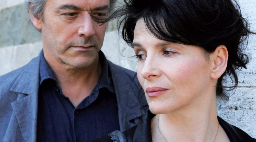 """Wliliam Shimell e Juliette Binoche in """"Copia conforme"""""""