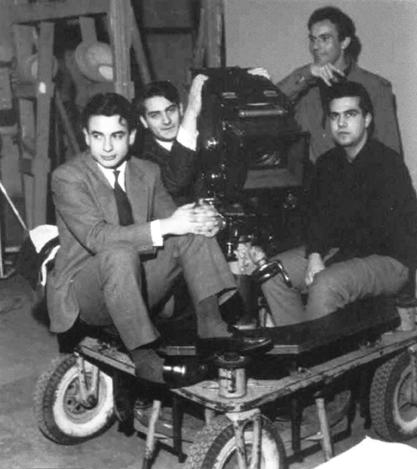 Un'esercitazione del corso di fotografia al Centro Sperimentale di Cinematografia (1962)