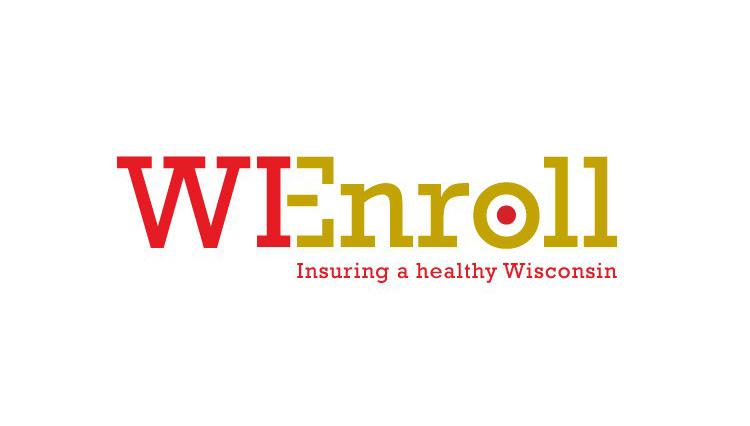 WI Enroll, logo design