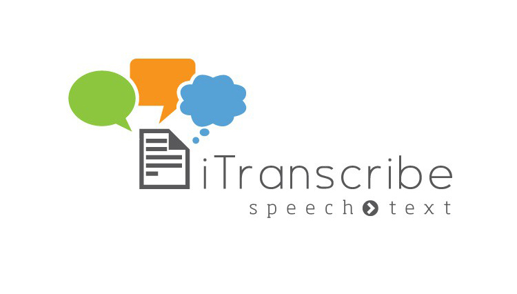 iTranscribe, logo design