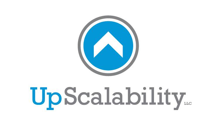 UpScalability, logo design