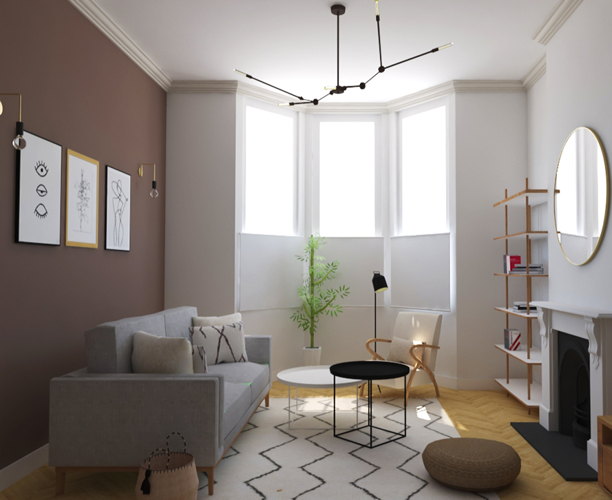 Decology - Providing all the graphics for an innovative online real time Interior Design service.