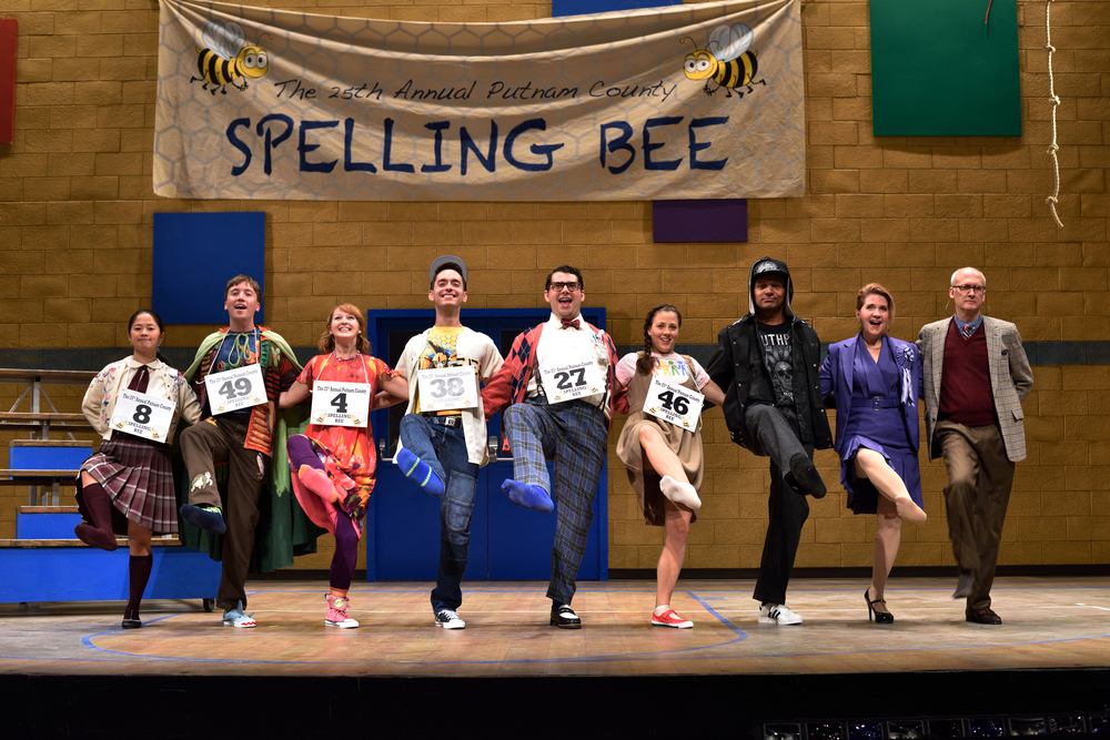 """Emily Walton as Olive Ostrovsky shines above the rest with her lovely characterization and precise vocals."" BroadwayWorld, ...Spelling Bee"