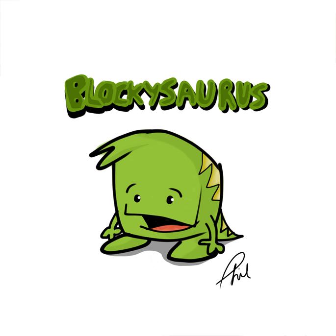 Blockysaurus