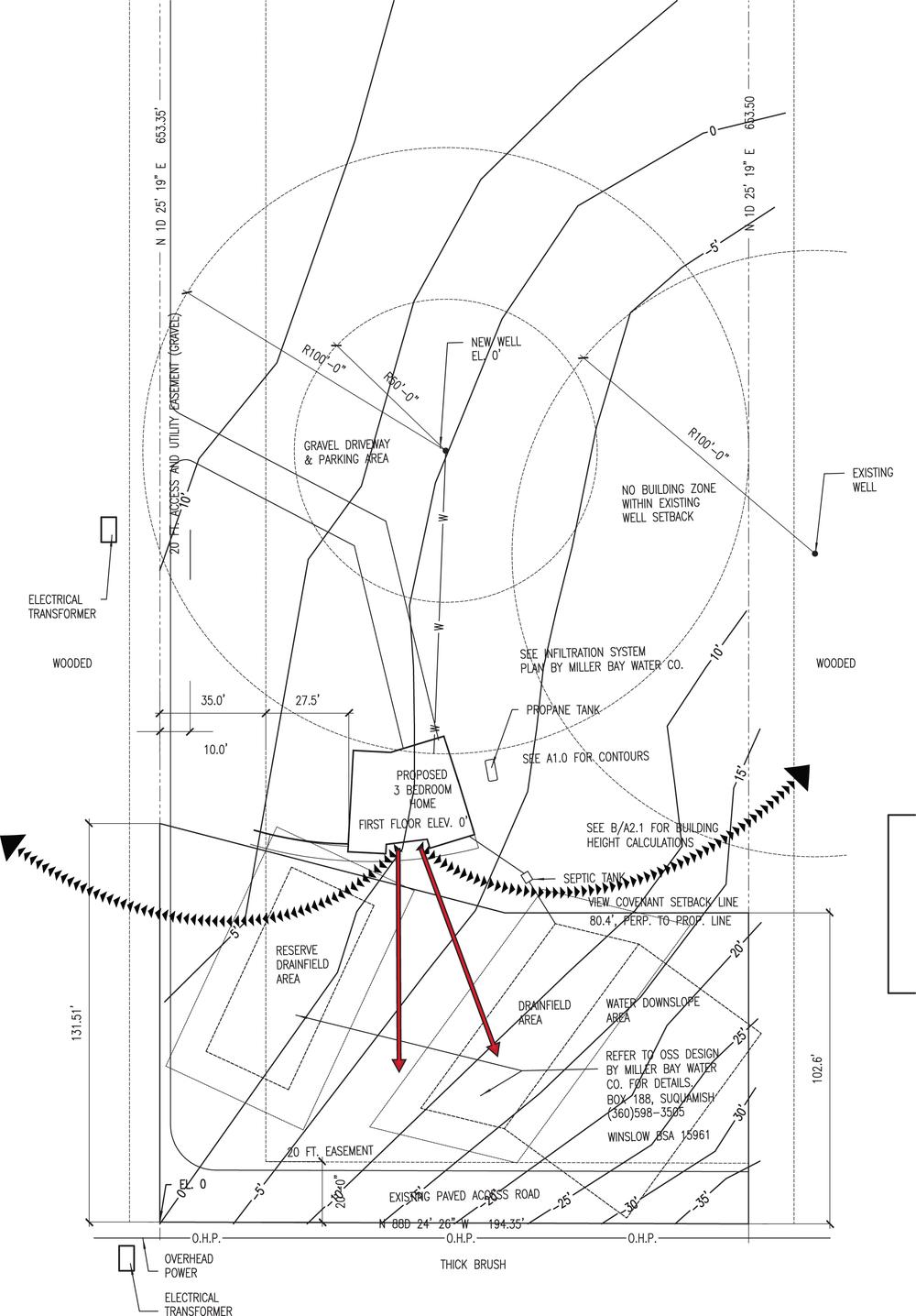 Point White Drive Plans