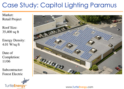 175 kw solar project for capitol lighting paramus nj john berry