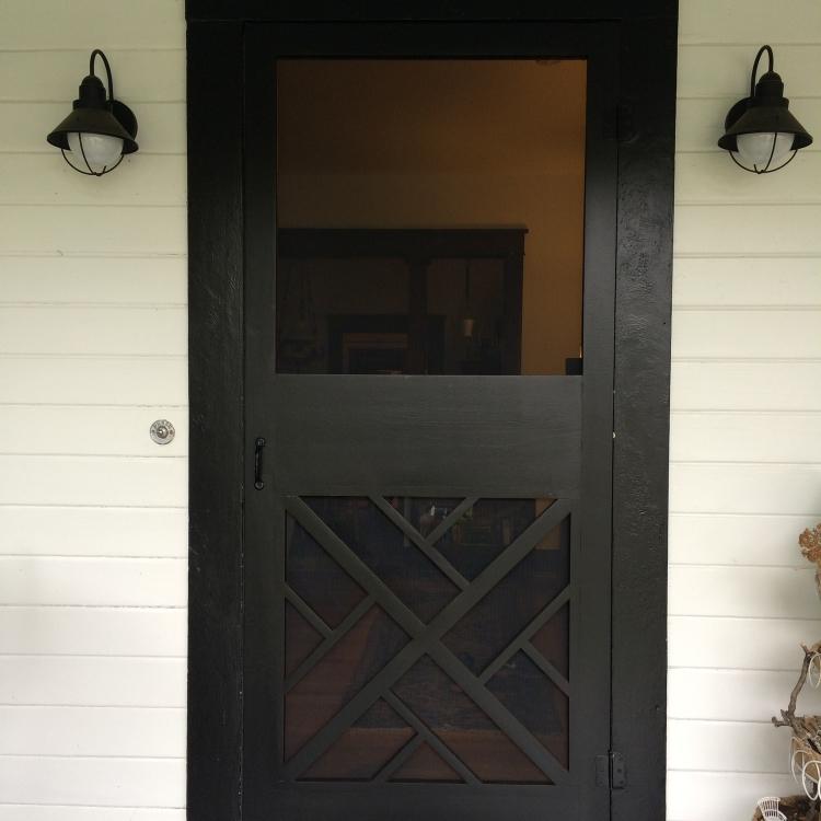 Superb Custom Screen Door Grid Work.JPG