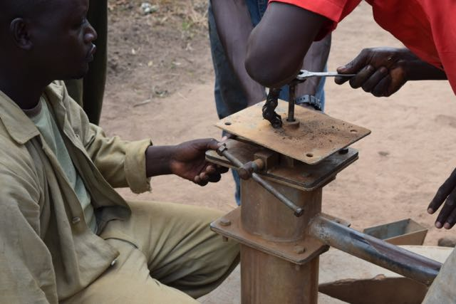 Taking apart the borehole