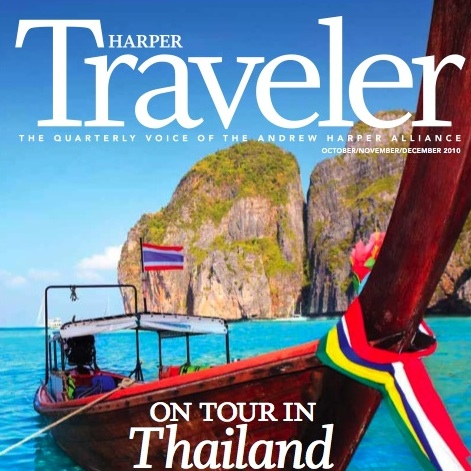 """Touring Thailand"" (Cover Story) Harper Traveler - Oct/Nov/Dec 2010"