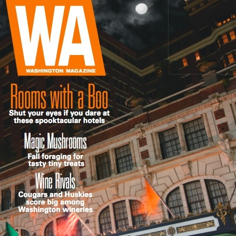 """ROoms with a Boo"" (Cover Story) Washington Magazine Fall 2010"