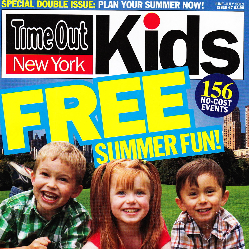 Several Articles Time Out New York Kids - Jun/Jul 2011