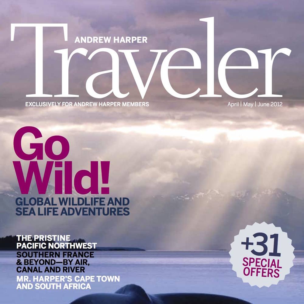 """Southern France & Beyond"" Harper Traveler - Apr/May/jun 2012"