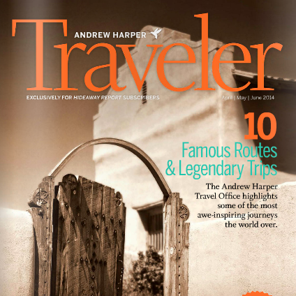 """Back AT the ranch"" Harper Traveler - Apr/May/Jun 2014"